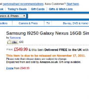 galaxy nexus amazon uk