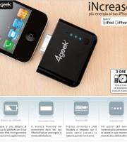 increase batteria iphone ipod offerta