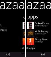 bazaar market applicazioni windows phone