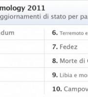 facebook 2011 argomenti italia