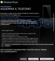 aggiornamento windows phone