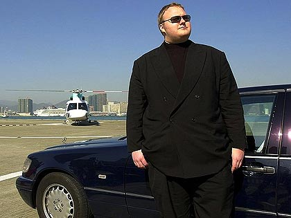 risarcimento kim dotcom