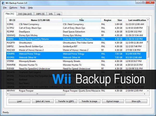 Download Wii Backup Fusion: come spostare ISO giochi da PC