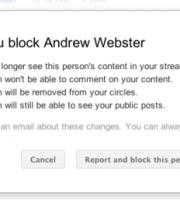 google plus blocc