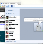 Facebook-chat bing bar