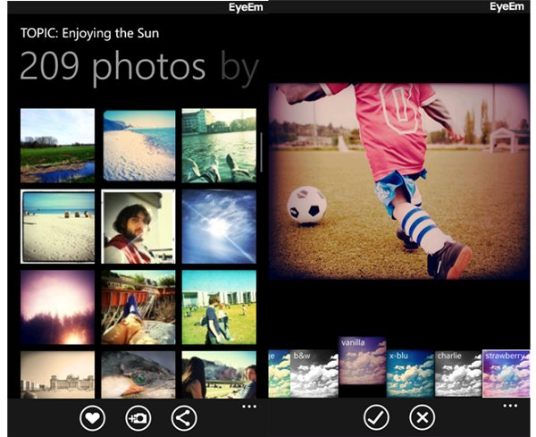 eyeem instagram windows phone