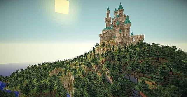 Download mappe per minecraft regno abbandonato e castello for Case belle su minecraft