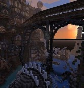 steampunk city minecraft