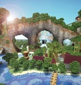 villaggio minecraft